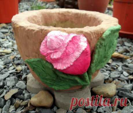 Садовый декор из цемента. Часть 2-я.   Мои цветы   Яндекс Дзен