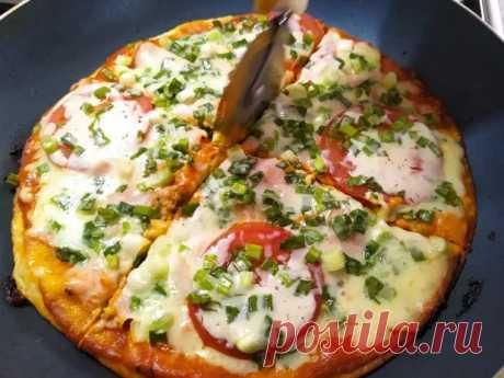 Идеальная пицца на лаваше за 15 минут! - Дачный участок - медиаплатформа МирТесен