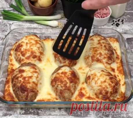 Картофельный сюрприз: очень вкусный ужин для всей семьи
