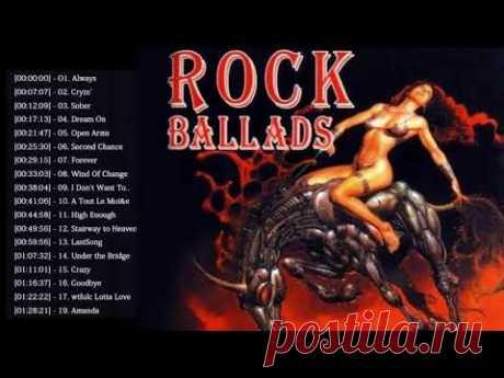 Rock Ballads 70's 80's 90's - Scorpions, Led Zeppelin, Bon Jovi, U2, Aerosmith, The Eagles