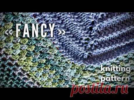 Вяжем классный топ спицами «Fancy»!!! ЭКСКЛЮЗИВ!💥💥💥 / How to knit beautiful sweater