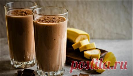 Напиток из кефира с какао для сильного похудения