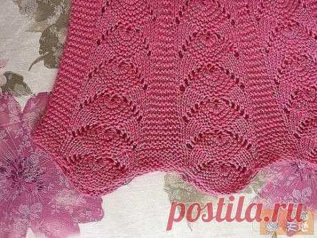 Вяжем розовый сарафан - девочке для прогулок! из категории Интересные идеи – Вязаные идеи, идеи для вязания