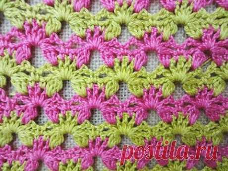 Двухсторонний узор Вilaterial pattern Crochet