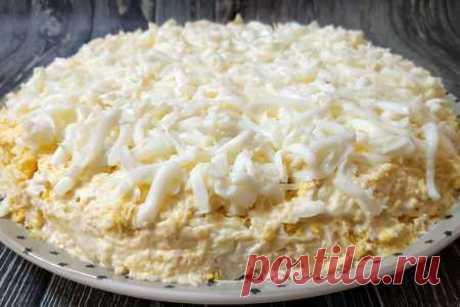 """Изумительный слоеный салат """"невеста"""" на все случаи жизни   Вкусные кулинарные рецепты"""