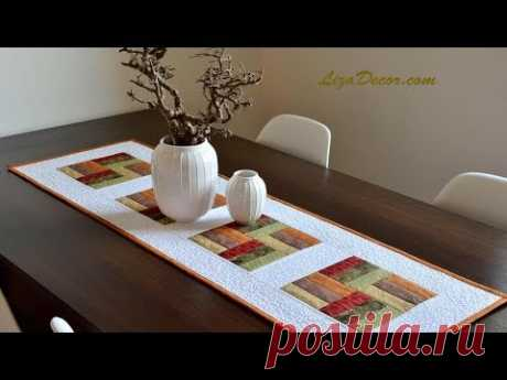 How to get started with patchwork - Table-cloth