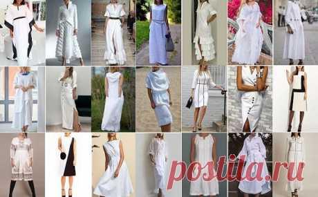 Моделей белых платьев много не бывает — 45 просто очаровательных фасонов! | ДОМ ЯРКИХ ИДЕЙ | Яндекс Дзен