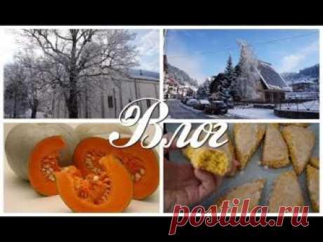 VLOG  Зимний город, как запекать тыкву, цены на продукты Сербия
