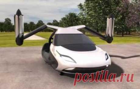 Летающий автомобиль уже в продаже! Первый в мире летающий автомобиль, который превращается в самолет менее, чем за минуту