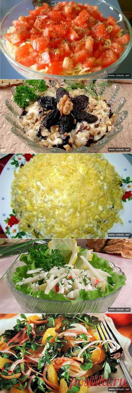 рецепты салатов | Релаксик