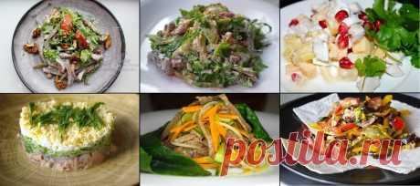 Предлагаю вам шесть нетривиальных салатов на новогодний стол: без «Оливье» и «Селедки под шубой»   Домашняя кухня Алексея Соколова   Яндекс Дзен