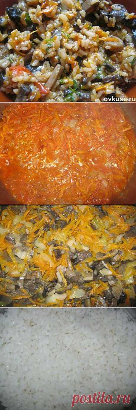 Плов с грибами постный - Простые рецепты Овкусе.ру