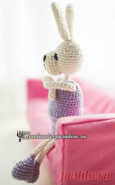 Кролики с характером. Вязание амигуруми
