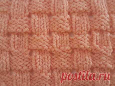 Простой и эффектный узор спицами для джемперов, кардиганов, шапок и шарфов. Вяжется очень легко.