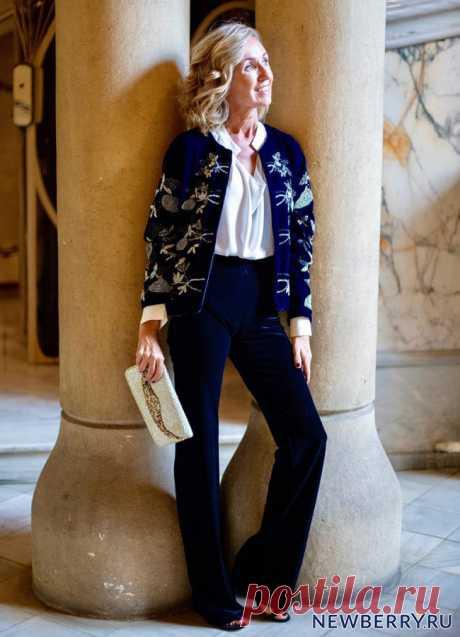 Женщины за 50, возьмите на заметку! Мода от стильной испанки Maica Jáuregui