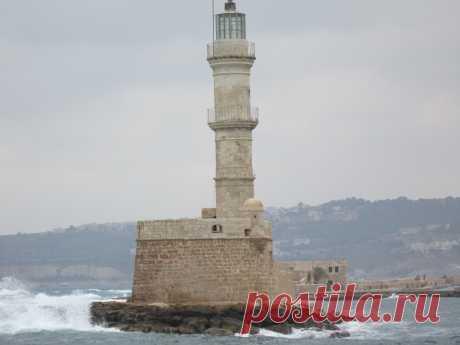 венецианский маяк в г.Ханья, Крит