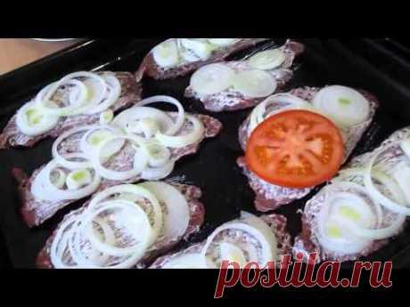 по-французски с помидорами   Домашняя кулинария