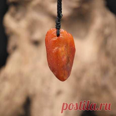Jade pendant necklace Natural Shape Gemstone-gifts for | Etsy