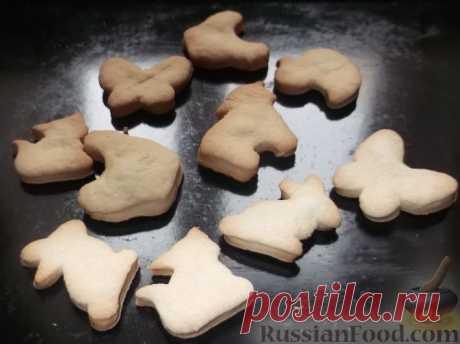 La receta: las galletas smetannoe en RussianFood.com