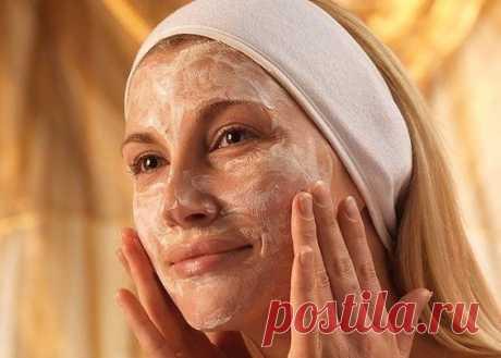 Natural face scrub - 5 recipes