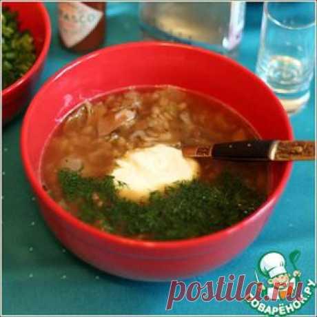 Суп из белых грибов с перловкой - кулинарный рецепт
