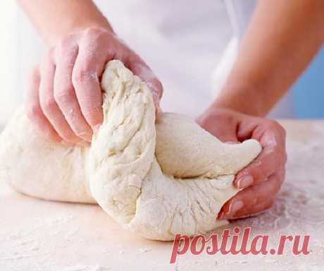 Тесто из творога - лучшие рецепты. Как правильно и вкусно приготовить тесто из творога.