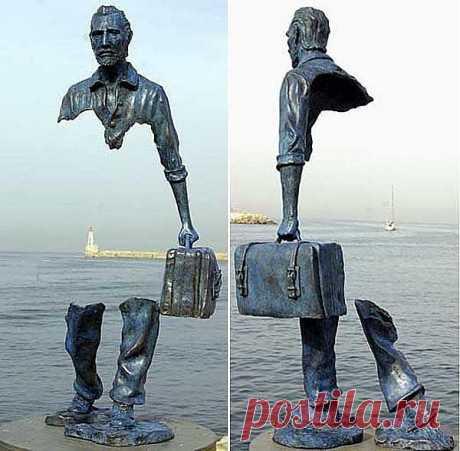 "Скульптура ""Ван Гог и пустота"""