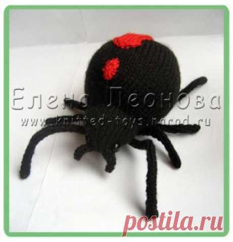 Вязаный паук - В гостях у вязаной игрушки