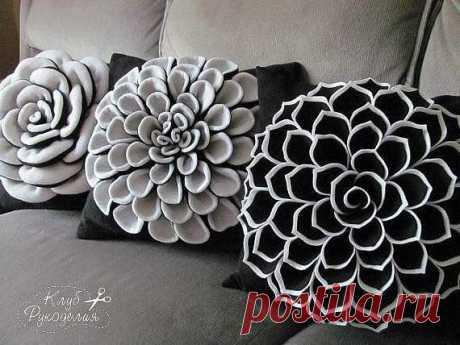 Красивые подушки: идеи и не только — Сделай сам, идеи для творчества - DIY Ideas