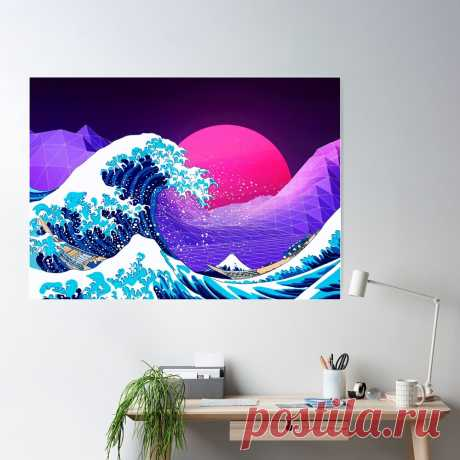 Synthwave off Kanagawa