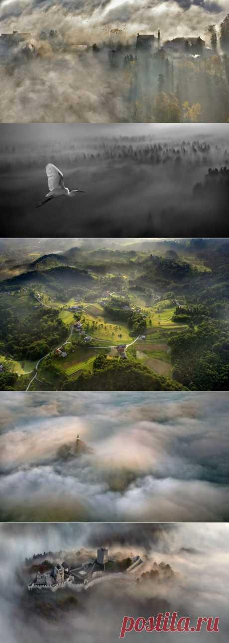» Ландшафты от Matjaz Cater Это интересно!