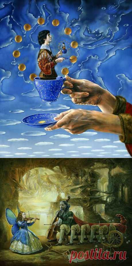 Потрясающие картины Михаила Хохлачева.