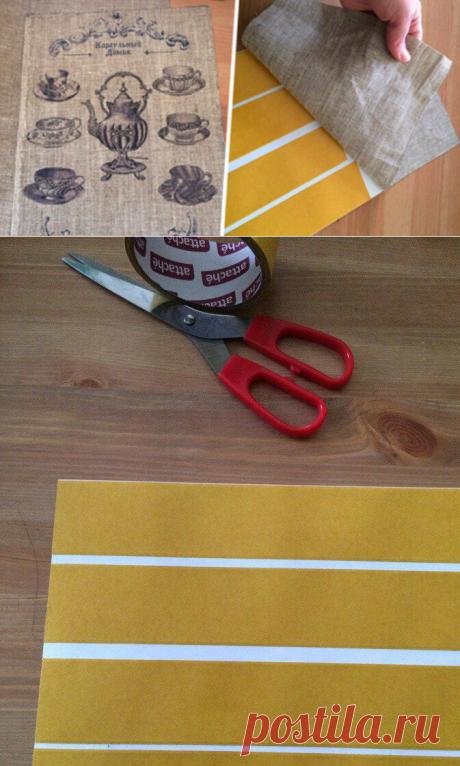 Как сделать принт на холсте в домашних условиях… Все, что нужно — это скотч и принтер! | Домашние хлопоты | Яндекс Дзен
