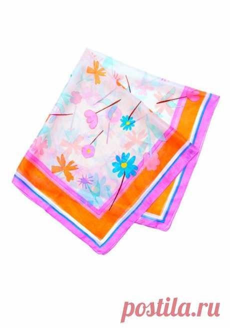 Яркое летнее безумие в платке из чистого шелка от Zarina за 299 р!