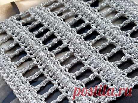 Узор крючком в вашу копилку. | Asha. Вязание и дизайн.🌶 | Яндекс Дзен