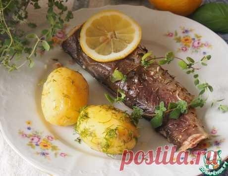 Рыба, запеченная в травах – кулинарный рецепт