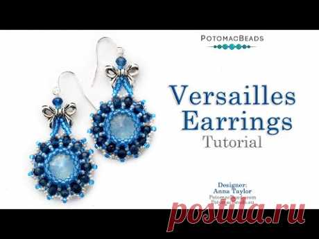 The Versailles Earrings - LIVE DIY Tutorial by PotomacBeads