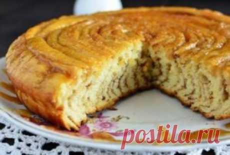 Шотландский спиральный пирог   Самые вкусные рецепты