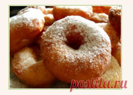 Рецепт классических пончиков. Особенности приготовления