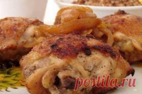 Жареные куриные бедра со вкусом шашлыка Новый и интересный вкус с минимумом затрат!