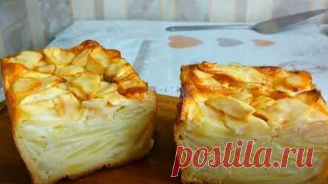 """При выпечке тесто в яблочном пироге превращается в крем: я называю его """"волшебным"""""""