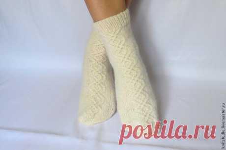 We knit woolen socks