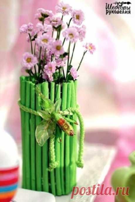 Из цвета весны... / Декор / Мастер классы по декору