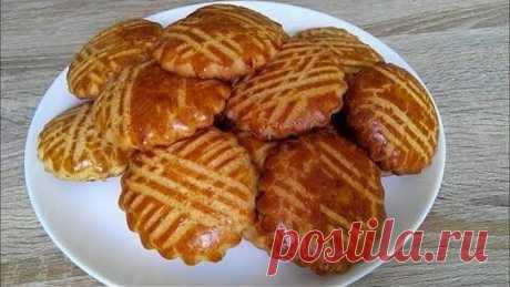 Домашнее печенье с медом нежное и ароматное, на скорую руку.