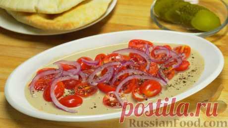Рецепт: Салат с помидорами и тхиной