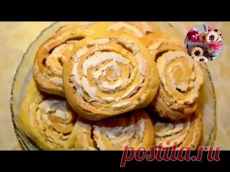Творожное Печенье Розочки.Быстро и Просто.
