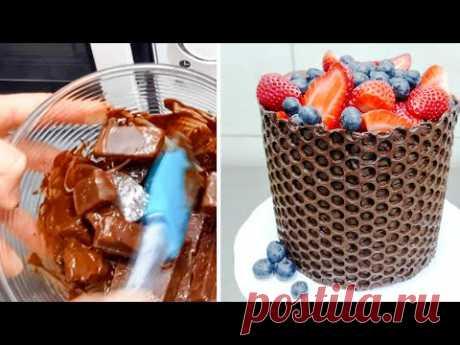 Украшаем торты с помощью пузырчатой пленки. Это же гениально! — Полезные советы