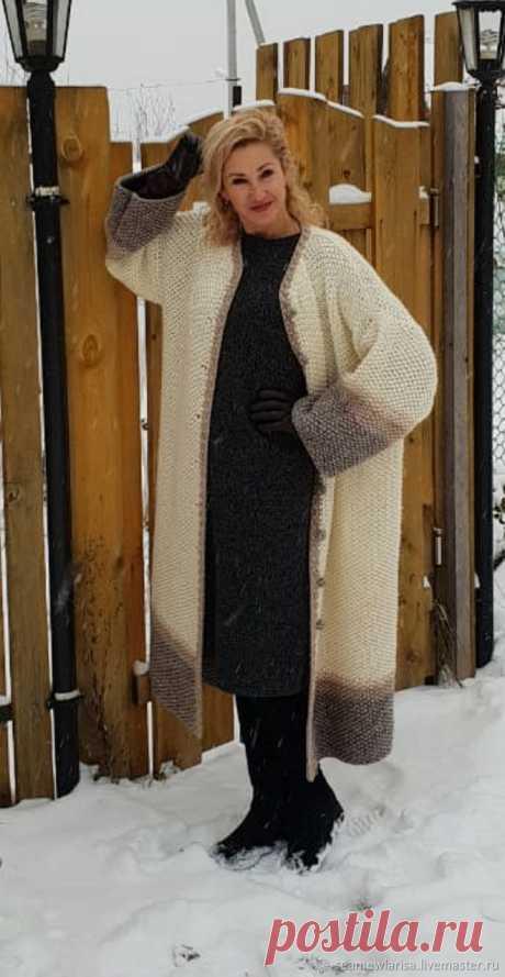 Пальто Снежный март ручная работа полушерсть – заказать на Ярмарке Мастеров – HIX2PRU | Пальто, Сарапул