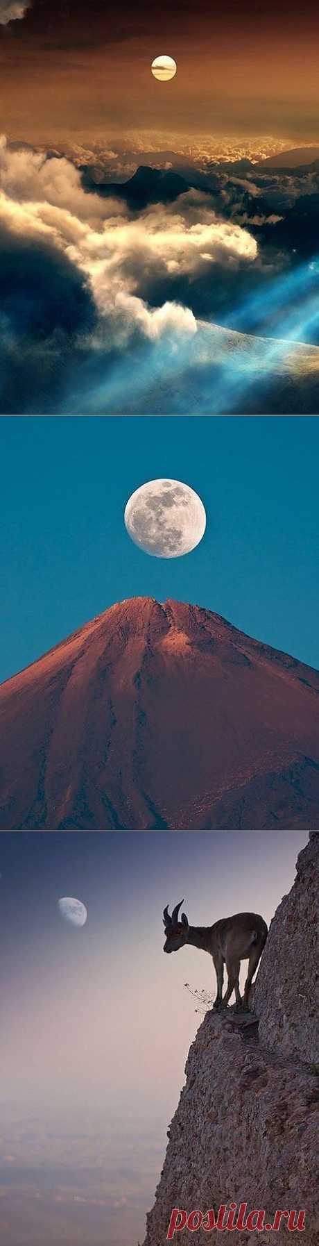 El semblante de la luna