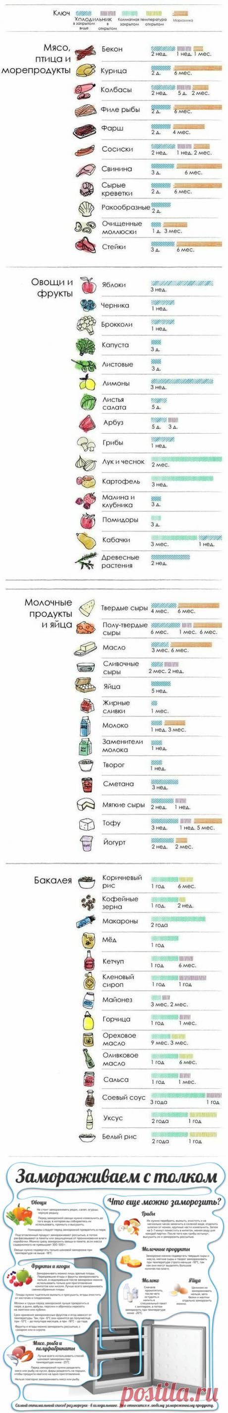 25 полезных кулинарных шпаргалок на все случаи жизни